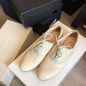 Tod's women's oxford loafers/flats